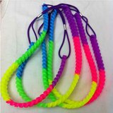 Silicone braided necklace